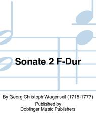 Sonate 2 F-Dur Sheet Music by Georg Christoph Wagenseil