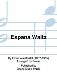 Espana Waltz Sheet Music by Emile Waldteufel
