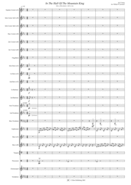 In The Hall Of The Mountain King. Edvard Grieg Sheet Music by Edvard Greig
