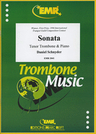 Sonate Sheet Music by Daniel Schnyder