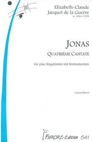 Jonas (Cantata) Sheet Music by Elisabeth-Claude Jacquet de La Guerre