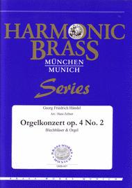 Organ Concerto Op. 4 No. 2 Sheet Music by George Frideric Handel