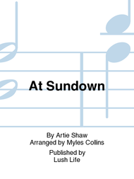 At Sundown Sheet Music by Artie Shaw
