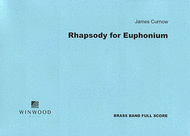 Rhapsody for Euphonium Sheet Music by James Curnow