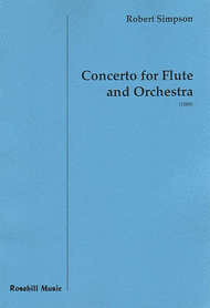 Concerto for Flute Sheet Music by Robert Simpson