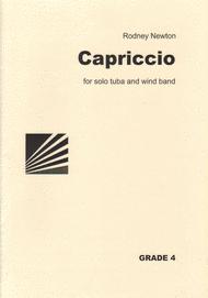 Capriccio for Tuba Sheet Music by Rodney Newton
