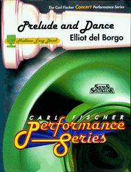 Prelude And Dance Sheet Music by Elliot Del Borgo