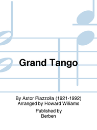 Grand Tango Sheet Music by Astor Piazzolla