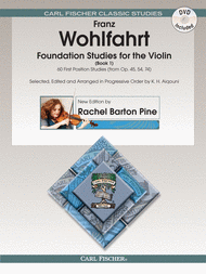 Foundation Studies for the Violin