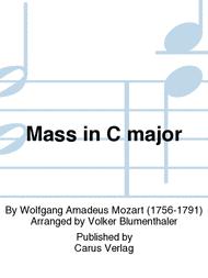 Mass in C Major Sheet Music by Wolfgang Amadeus Mozart