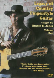 Legacy of Country Fingerstyle Guitar Vol. 1 Sheet Music by Buster B. Jones