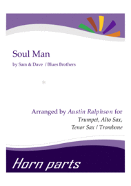 Soul Man - horn parts Sheet Music by Sam And Dave