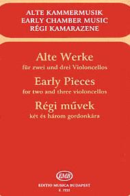 Alte Werke fur zwei und drei Violoncelli Sheet Music by Various