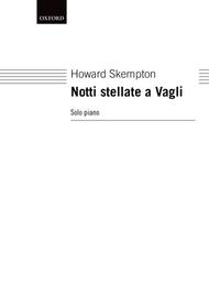 Notti stellate a Vagli Sheet Music by Howard Skempton