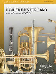 Tone Studies for Band Sheet Music by James Curnow