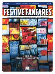 Festive Fanfares Sheet Music by Edwin M. Willmington