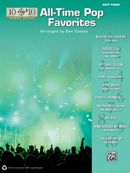 10 for 10 Sheet Music All-Time Pop Favorites Sheet Music by Dan Coates