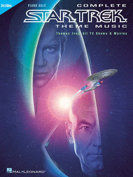 Complete Star Trek Theme Music - Piano Solo Sheet Music by Various