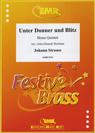 Unter Donner und Blitz Sheet Music by Johann Strauss Jr.