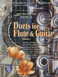 Duets for Flute & Guitar Duet - Volume I (Flute Part) Sheet Music by Various
