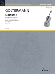 Nocturne A minor op. 115/3 Sheet Music by George Goltermann