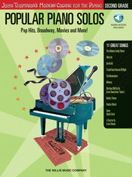Popular Piano Solos - Grade 2 - Book/Audio Sheet Music by Various