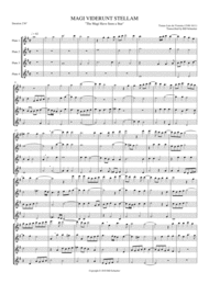 Magi Viderunt Stellam Sheet Music by Tomas Luis de Victoria