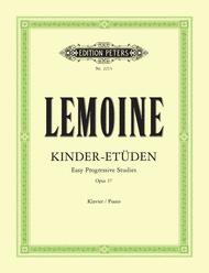 50 Easy Progressive Studies Op. 37 Sheet Music by Henri Lemoine