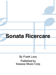 Sonata Ricercare Sheet Music by Frank Levy
