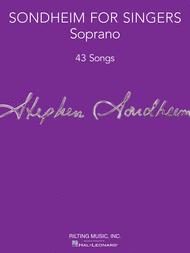 Sondheim for Singers Sheet Music by Stephen Sondheim