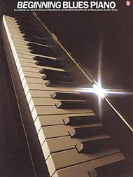 Beginning Blues Piano Sheet Music by Eric Kriss