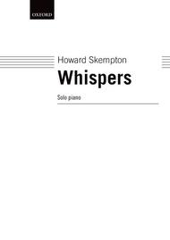 Whispers Sheet Music by Howard Skempton
