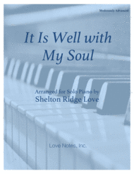 It Is Well with My Soul Sheet Music by Philip P. Bliss