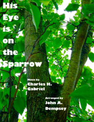 His Eye Is on the Sparrow ( Piano Solo) Sheet Music by Charles H. Gabriel