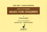 Music for Children Vol. 1 Sheet Music by Carl Orff