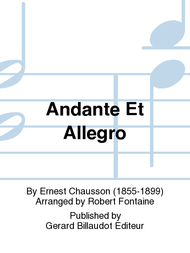 Andante Et Allegro Sheet Music by Ernest Chausson