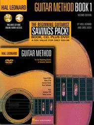 Hal Leonard Guitar Method Beginner's Pack Sheet Music by Greg Koch