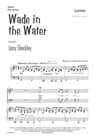 Wade in the Water Sheet Music by Larry Shackley