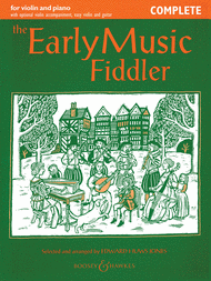 The Early Music Fiddler - Complete Sheet Music by Edward Huws Jones