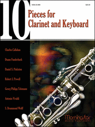 Ten Pieces for Clarinet and Keyboard Sheet Music by Daniel S. Pinkston