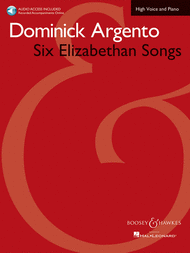 Six Elizabethan Songs - High Voice - New Edition - With Online Accompaniments Sheet Music by Dominick Argento