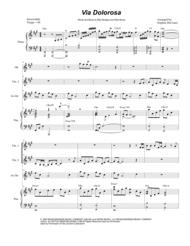 Via Dolorosa (for Violin Duet) Sheet Music by Sandi Patty