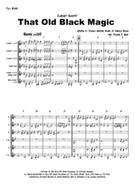 That Old Black Magic - Sinatra/Ella - Clarinet Quintet Sheet Music by Ella Fitzgerald
