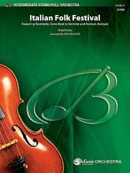 Italian Folk Festival Sheet Music by Jack Bullock