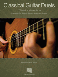 Classical Guitar Duets Sheet Music by Various
