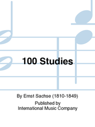 100 Studies Sheet Music by Ernst Sachse
