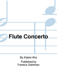 Flute Concerto Sheet Music by Kalevi Aho