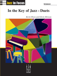In the Key of Jazz-Duets (NFMC) Sheet Music by Edwin Mclean