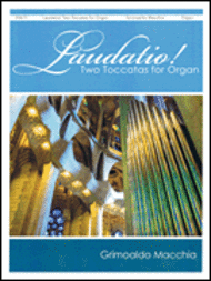 Laudatio! - Two Toccatas Sheet Music by Grimoaldo Macchia