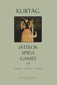 Games Sheet Music by Gyorgy Kurtag